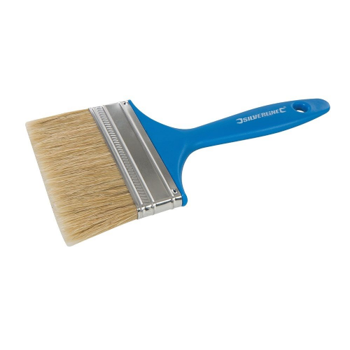 Silverline 606675 Disposable Utility Paint Brush 100mm